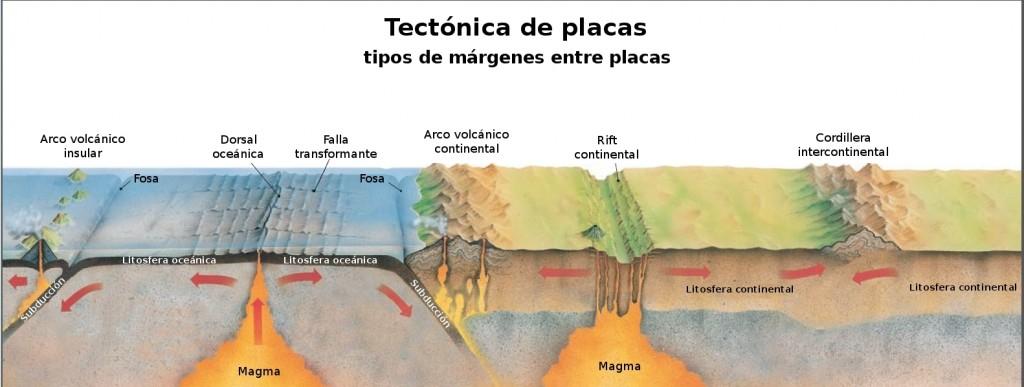 Tipos de margenes de Placa