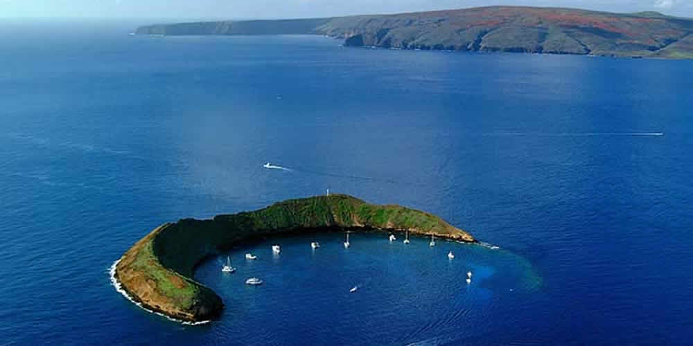 crater volcánico molokini