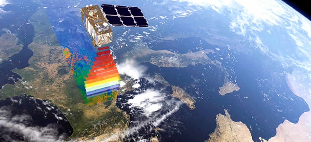 Imágenes Sentinel 2 editadas en QGis