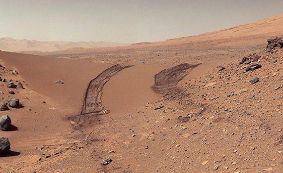 Mars Trace - Rastro en Marte