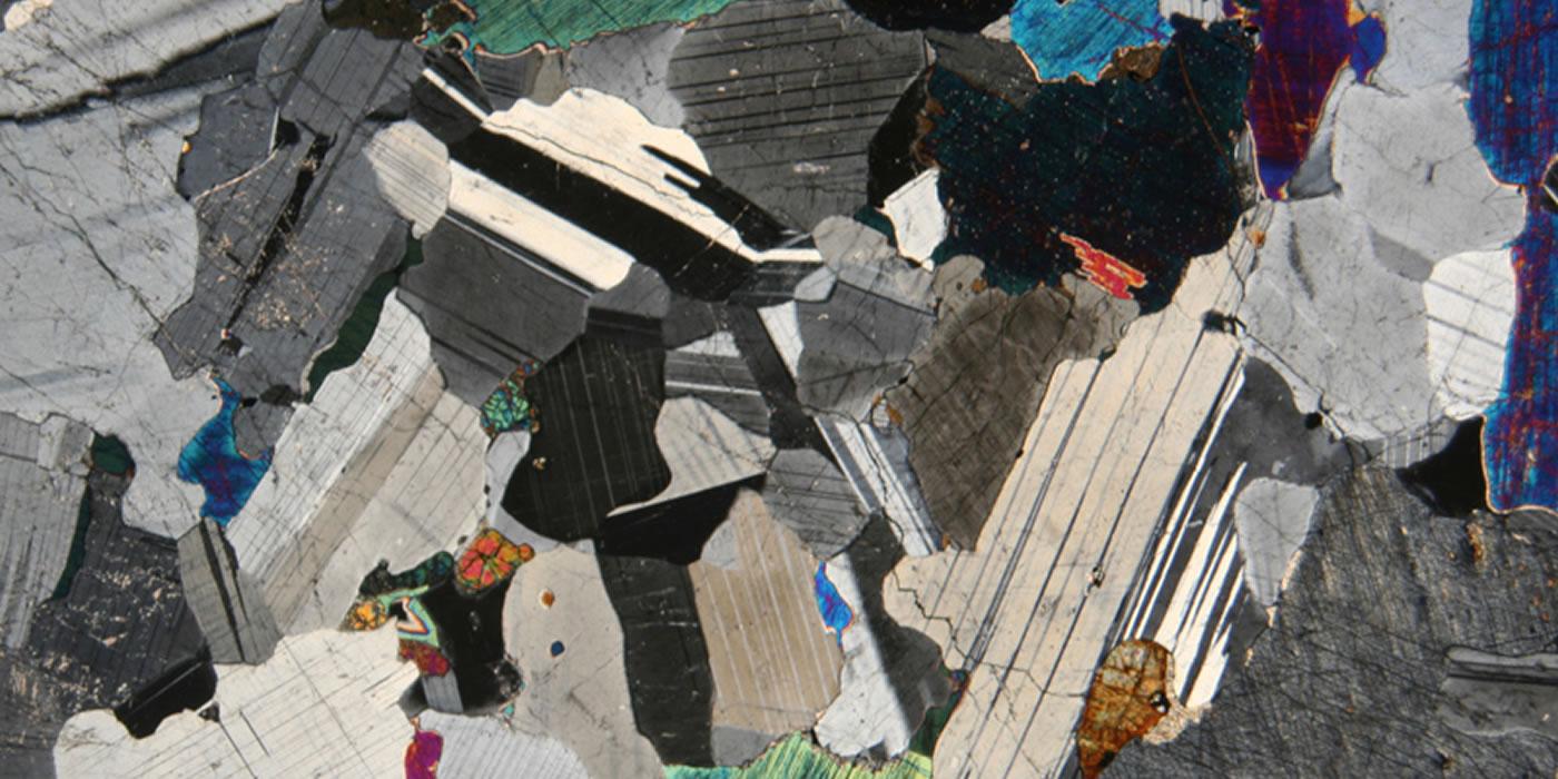 Mineralogía Óptica - Plagioclasa